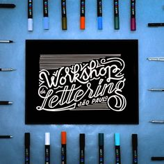 Estou muitoooo feliz em anunciar que as inscrições para o Workshop de Lettering estão abertas!!! Que felicidade poder juntar duas paixões... o lettering e o ensino! Corra são apenas 16 vagas!  workshopdelettering.com  Dúvidas? Envie um email ou chame inbox... ;). hello@aldricbonani.com  #aldriclettering #lettering #letters