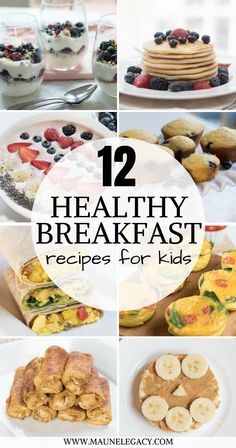 Arkansas lifestyle blogger, Jennifer from Maune Legacy, shares a protein-packed series of 12 healthy breakfast recipes for kids and adults. #healthyrecipes #breakfastrecipes #protein #breakfast