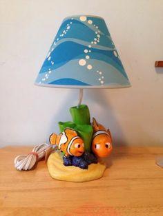 Disney-Pixar-Finding-Nemo-Lamp-Nightlight-Hampton-Bay-New-Without-Box