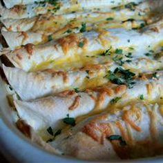Whit's Chicken Enchiladas Recipe