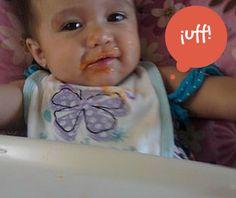 Mis primeros trocitos ¡Mmmm…llegó la comida! | Blog de BabyCenter