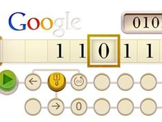 Google Doodle honors Alan Turing