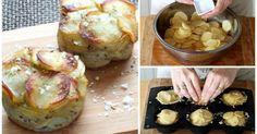 Mini MILHOJAS de patata para un entrante diferente