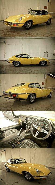 1970 Jaguar E Type Series II 4.2 Coupe