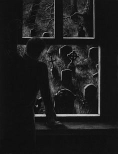 """""""There Was a Man Dwelt by a Churchyard""""  A fabulous selection of mezzotints based on the tales by MR James"""