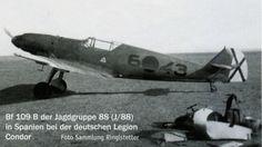 Messerschmitt Bf 109B Legion Condor J88 6x43 España 01