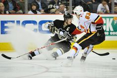 Join us before the Flames demolition of the Penguins tonight!