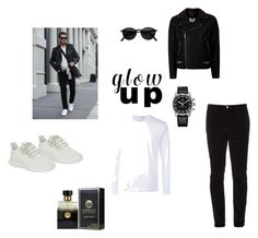 """""""Best look from the street"""" by dzenydzenyzbanic ❤ liked on Polyvore featuring adidas Originals, Topman, Gucci, Comme des Garçons, PENHALIGON'S, Zenith, men's fashion and menswear"""