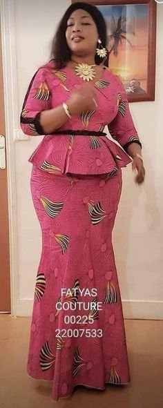 Africa Fashion 702280135628510917 - These Ankara Styles Would Get Your Girl To Slay Slaying is a hobby for every beautiful fashionista, especially when you're about to slay in these Latest Ankara Styles For Ladies That Slay. Slay with pride Source by African Dresses For Kids, African Wear Dresses, Latest African Fashion Dresses, African Attire, Ankara Rock, African Print Dress Designs, Traditional African Clothing, African Blouses, Look Fashion