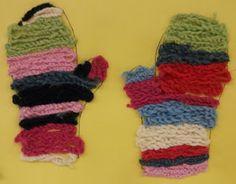 Textile Fabrics, Fingerless Gloves, Arm Warmers, Winter, Kids, First Grade, Fingerless Mitts, Winter Time, Young Children