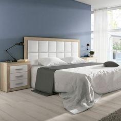 Bedroom Bed Design, Bedroom Furniture Design, Room Ideas Bedroom, Master Bedroom, Cama Futon, New Beds, Luxury Villa, Headboards, Home Decor