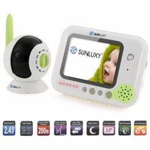 """SUNLUXY 3.5"""" Wireless Digital Baby Monitor Color LCD Two Way Talk Night Vision Audio Video Security Camera Rechargeable music     Tag a friend who would love this!     FREE Shipping Worldwide     #BabyandMother #BabyClothing #BabyCare #BabyAccessories    Buy one here---> http://www.alikidsstore.com/products/sunluxy-3-5-wireless-digital-baby-monitor-color-lcd-two-way-talk-night-vision-audio-video-security-camera-rechargeable-music/"""