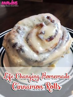 You have never tasted homemade cinnamon rolls like these before! This homemade cinnamon roll recipe will change your life!…