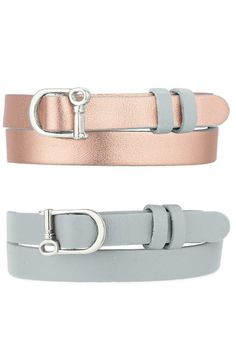 KEEP Collective double wrap leather band. pictured cool grey and champagne {thirty-nine dollars} https://www.keep-collective.com/with/sarahlynn_wilkinson