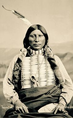 Native American man.