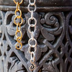 "Signature ""S"" clasps #statementpiece  #Chain #StephanieKantis"