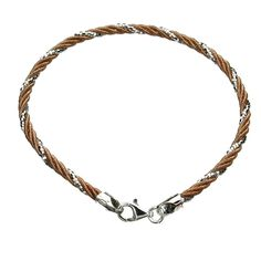 18KT Rose Gold-Flashed Sterling Silver 2.8mm Omega Chain Bracelet Italy *** You can get more details by clicking on the image.