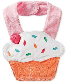 Carter's Baby Girls' Cupcake Bib