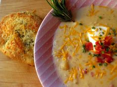 Loaded Bake Potato Soup Crock Pot  Style