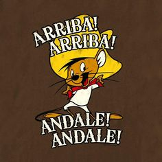 Speedy Gonzales - me after coffee