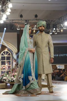 Zainab Chottani Aqaasi-e-Dhanak Collection 2016 at Telenor Bridal Couture Week TBCW Day 3 (4)