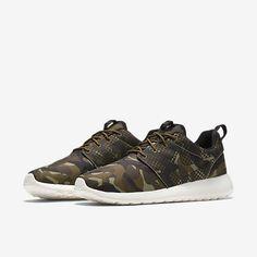 fea58103e155 Best Sneakers   Nike Roshe One Print-Alligator-Black-Militia - TalkFashion