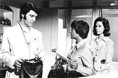Elvis Presley, Mary Tyler Moore, and Barbara McNair in Change of Habit Barbara Mcnair, Change Of Habit, 1969 Movie, Mary Tyler Moore, In Hollywood, Elvis Presley, Movies, Films, Cinema