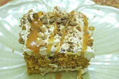 Pumpkin Heath Caramel Cake