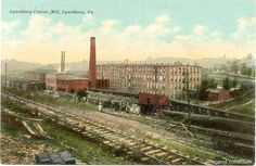 """https://flic.kr/p/aFE1x8   Lynchburg Virginia post card - Lynchburg Cotton Mill - circa 1910   an F.M. Kirby Co. postcard from the Weigand collection.  This image is part of the <a href=""""http://www.retroweb.com/lynchburg/"""" rel=""""nofollow"""">RetroWeb Visual History of Lynchburg, Virginia</a>  Please do not re-publish, and do not modify or remove the credit line from this image."""