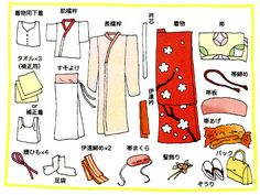 All the things you need to wear furisode #kimono !! 振袖のこと | 千總ブログ|創業450年 京友禅の老舗 千總