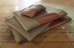 DODOcase Releases Handsome Handmade iPhone 5, iPad and MacBook Sleeves. Love the look and feel of these