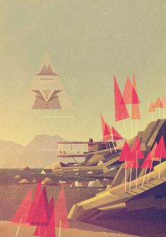 Futuristic Illustrations