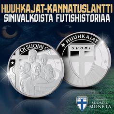 ⚽️ VUODEN ODOTETUIN KICK-OFF! Tänä kesänä tehdään historiaa, kun Suomen miesten jalkapallomaajoukkue Huuhkajat on ensi kertaa mukana EM-lopputurnauksessa. Matka arvokisoihin on ollut pitkä. Se on kestänyt 80 vuotta – kokonaisen ihmiselämän. Sen kunniaksi on julkaistu Huuhkajat-kannatuslantti, pysyvä muisto historiallisesta EM-kisapaikasta! #oisuomion #meolemmesuomi #huuhkajat #kannustanhuuhkajia Matka, Monet, Personalized Items, Historia