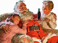 Best Santa ~ he loves coke.