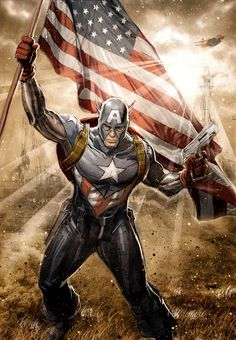 Captain America by Chad Hardin