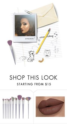"""unicorn makeup"" by atlanta-j ❤ liked on Polyvore featuring beauty"
