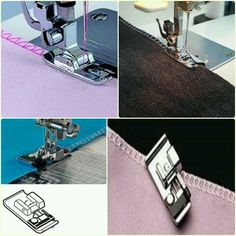 Prensatelas y algo mas | chispis.com Sewing Tools, Sewing Hacks, Sewing Crafts, Sewing Projects, New Look Shorts, Sewing Lessons, Edge Stitch, New Hobbies, Learn To Sew