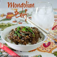 Mongolian Beef - Real Mom Kitchen