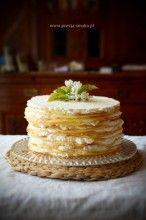 Marcinek to przepyszne ciasto z Podlasia. Wiele osób uważa, że Marcinek jest najlepszym ciastem na świecie - i coś w tym jest.