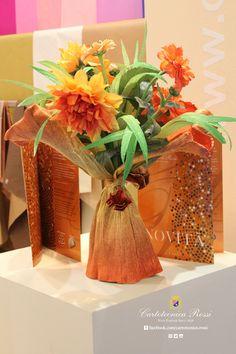 Crepe paper flower - fiori in carta crespa - flor en papel crepé #crepepaper #papelcrepe #cartacrespa #papiercrepon #paperflowers