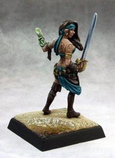 Pathfinder Miniatures (Isabella Locke 60134) RPG 25mm Minis