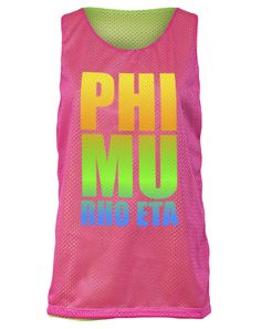 Our Phi Mu jerseys are pinterest famous