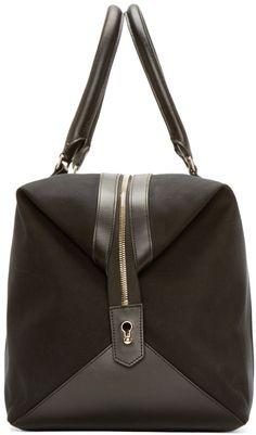 Paul Smith Black Canvas Travel Bag