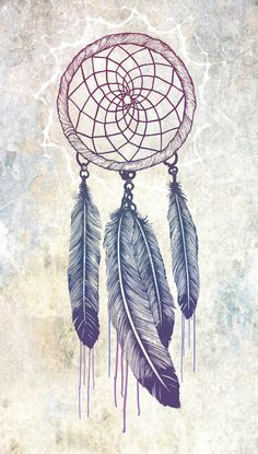 ♥ { #art #bodyart #dreamcatcher #feather #feathers #tattoo #tattooart #tattoos }