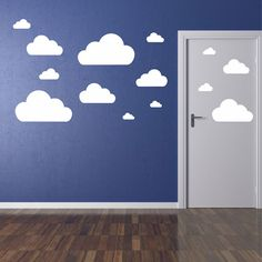 Cloud wall stickers!