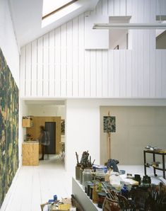 Warehouse Conversion for a Painter by Dingle Price Architects, Remodelista