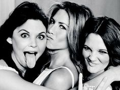 If I were in this picture, it would be me sticking out my tongue. Love being silly and love my girlfriends!!!
