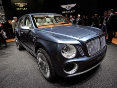 Bentley exp 9 f - wow, what a car! hopefully Chrysler rips it off for normal people to buy