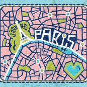 Paris en rose #paris #maps