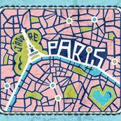 Paris en rose #paris #maps